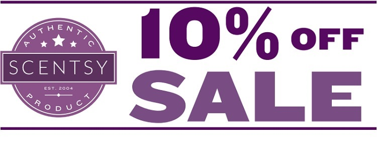 Save 10% Off Almost All Scentsy Products This Month