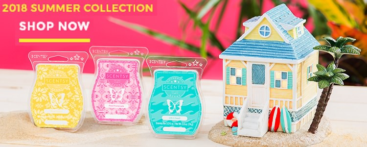 Scentsy 2018 Summer Collection