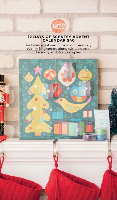 Scentsy 2019 Advent Calendar