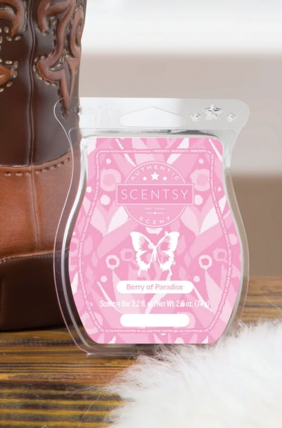 Berry of Paradise - August 2017 Scentsy Scent Of The Month