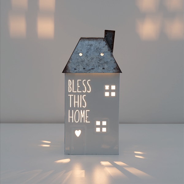 Bless This Home Scentsy Warmer Lit