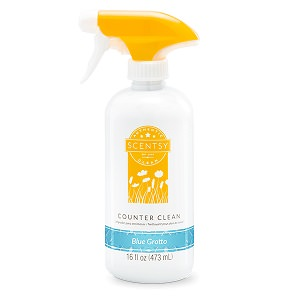 Blue Grotto Scentsy Counter Cleaner