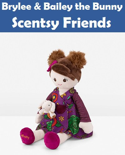 Brylee and Bailey The Bunny Scentsy Friends