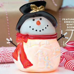 Build a Snowman Scentsy Holiday 2017 Warmer
