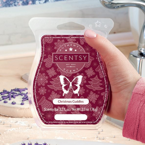 Christmas Cuddles - December 2018 Scentsy Scent Of The Month