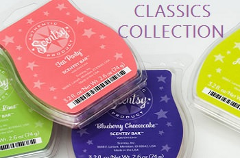 Scentsy Classics Scent Collection
