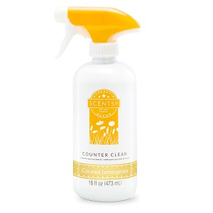 Coconut Lemongrass Scentsy Counter Cleaner