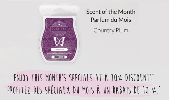 Country Plum Scentsy Bar