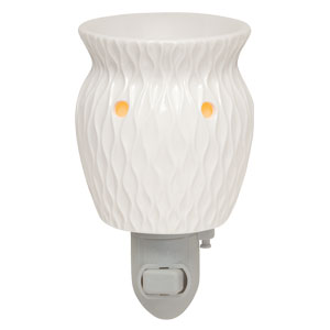 Crinkle Nightlight Candle Warmer