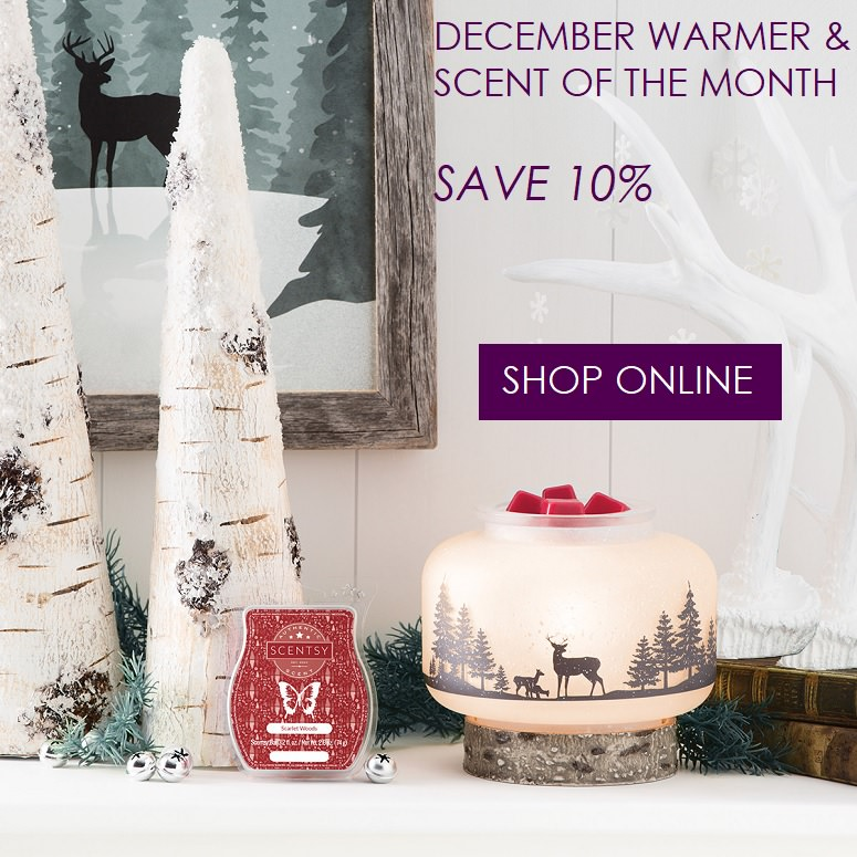 Scentsy Warmer and Scent Of The Month - Shop Online