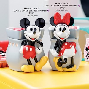 Disney Scentsy Warmer Collection