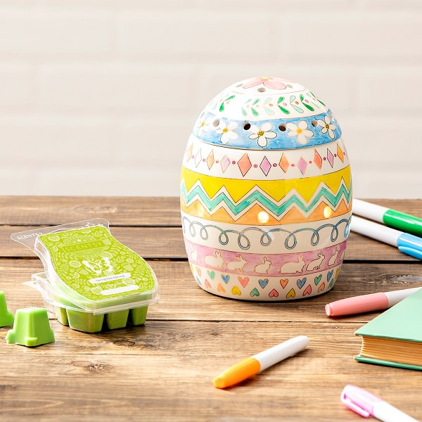Egg-Press Yourself Scentsy Warmer