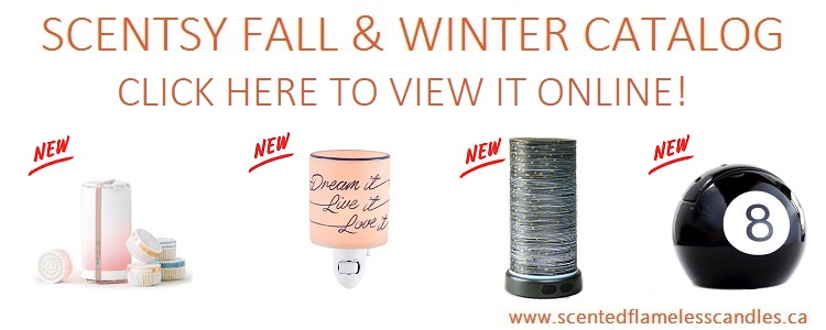 Scentsy Fall and Winter 2017-2018 Catalog