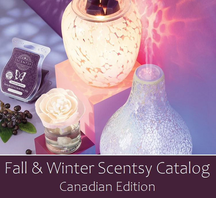 Fall and Winter 2020 Scentsy Catalog - Canada