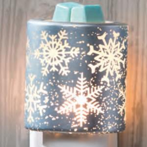 Falling Snowflakes Holiday 2017 Scentsy Nightlight