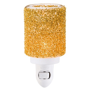 Glitter Gold Mini Scentsy Warmer