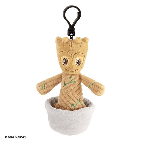 Groot Guardians of the Galaxy Scentsy Buddy Clip