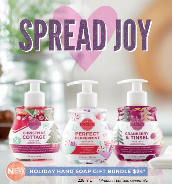 Scentsy Hand Soap Holiday Gift Bundle
