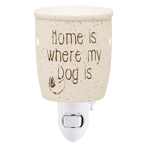 Home is Where My Dog Is Scentsy Warmer