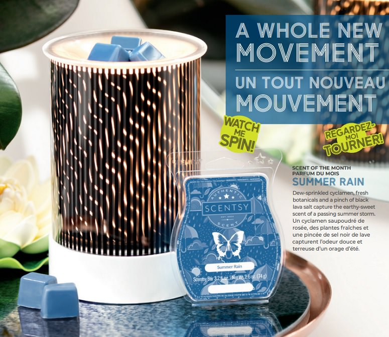 In Motion Scentsy Warmer