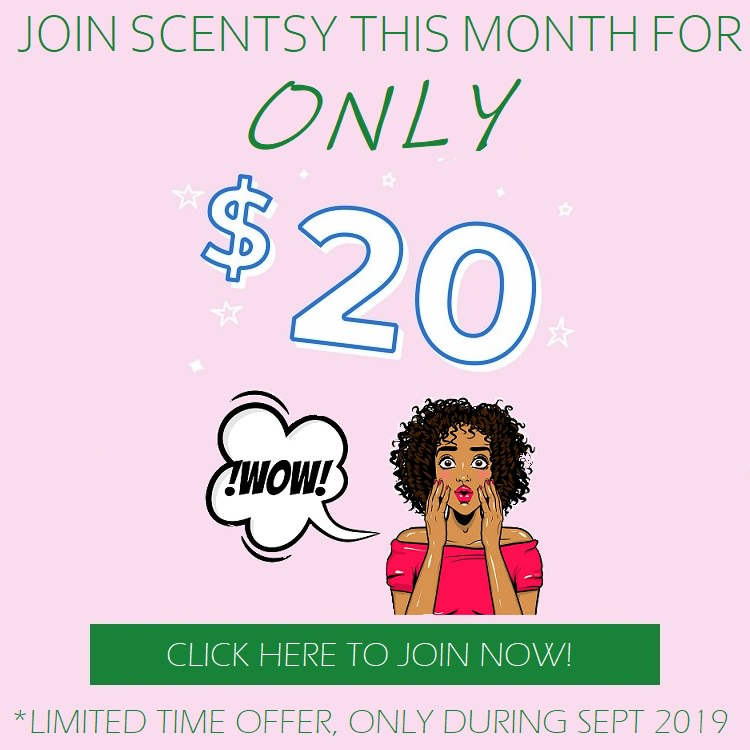Join Scentsy Canada For Only $20