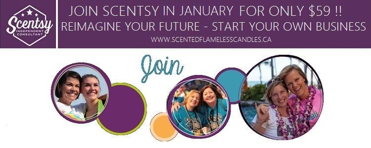 Join Scentsy in January For Only $59