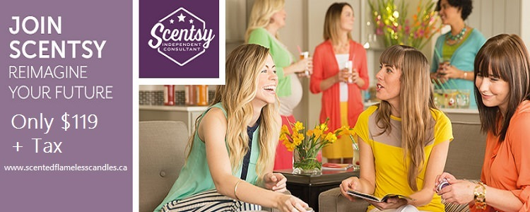 Become a Scentsy Consultant For Only $119 + Tax