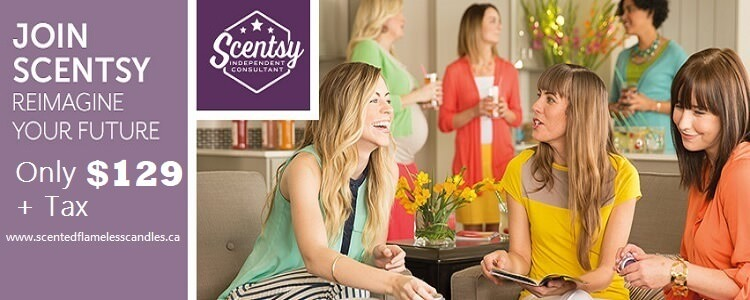 Join Scentsy in Canada For Only $129