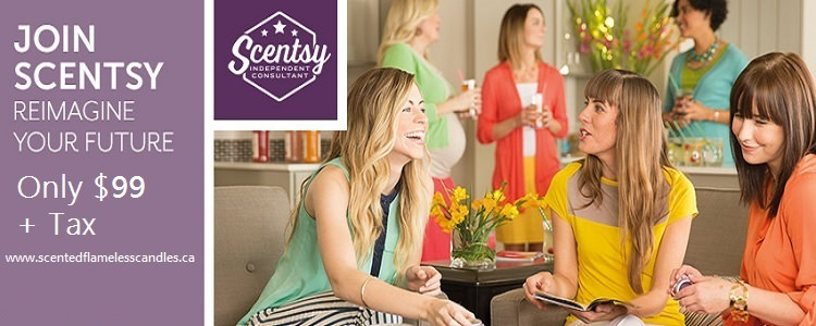 Become a Scentsy Consultant For Only $99 + Tax