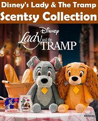 Lady and the Tramp Scentsy Disney Collection
