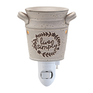 Live Simply Scentsy Nightlight