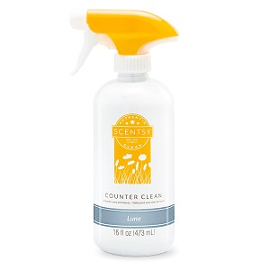 Luna Scentsy Counter Cleaner