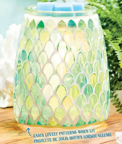 Scentsy Warmer Of The Month - March 2019 - Mermaid Glass