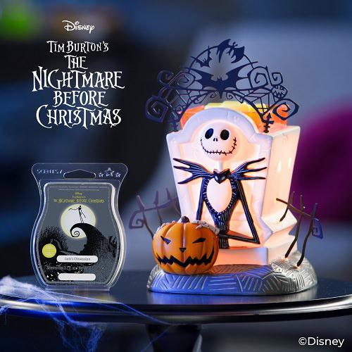 Nightmare Before Christmas Scentsy Warmer