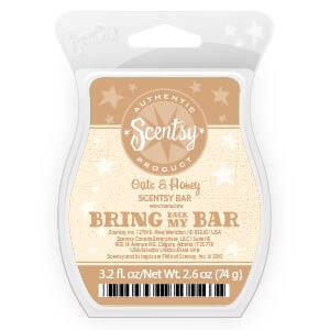 Oats and Honey Scentsy Bar | Bring Back My Bar January 2018