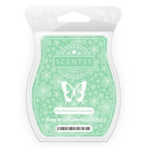 Pear Blossom & Cucumber Scentsy Bar | Bring Back My Bar January 2018