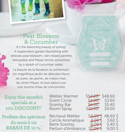 Color Of The Month February 2016: Scentsy Scent Of The Month