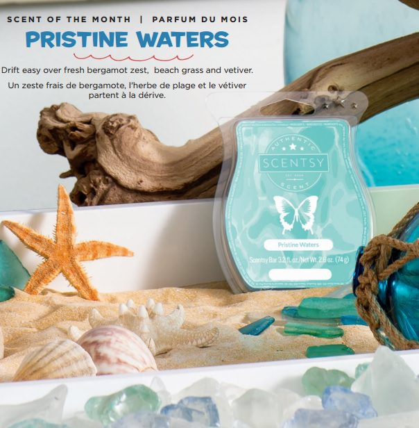 Prestine Waters - July 2017 Scentsy Scent Of The Month