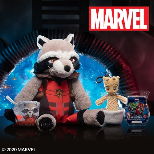 Guardians of the Galaxy Scentsy Buddy Clip
