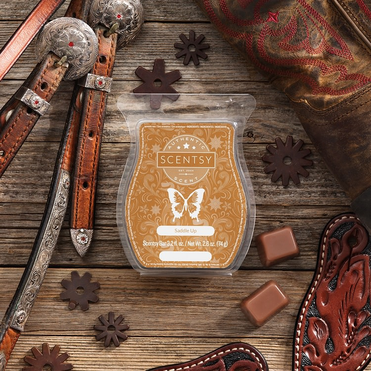 Saddle Up Scentsy Wax Bar