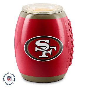 San Francisco 49ers NFL Scentsy Warmer