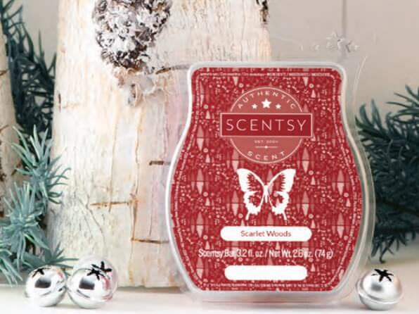 Scarlet Woods - December 2017 Scentsy Scent Of The Month