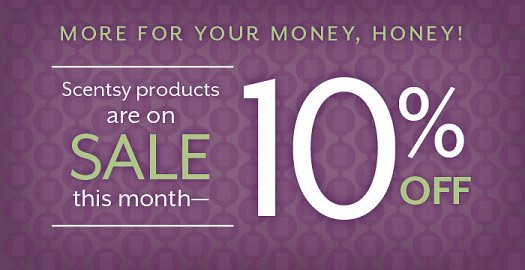 d8f0f74eebb95 Scentsy August 10% Off Sale | Independent Canadian Scentsy Consultant