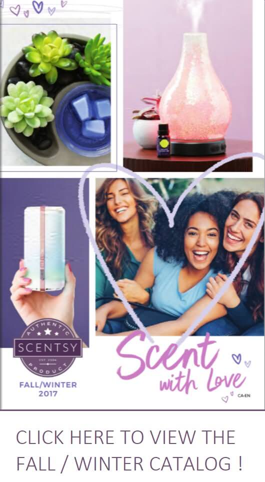 Scentsy Fall and Winter 2017 Canadian Catalog
