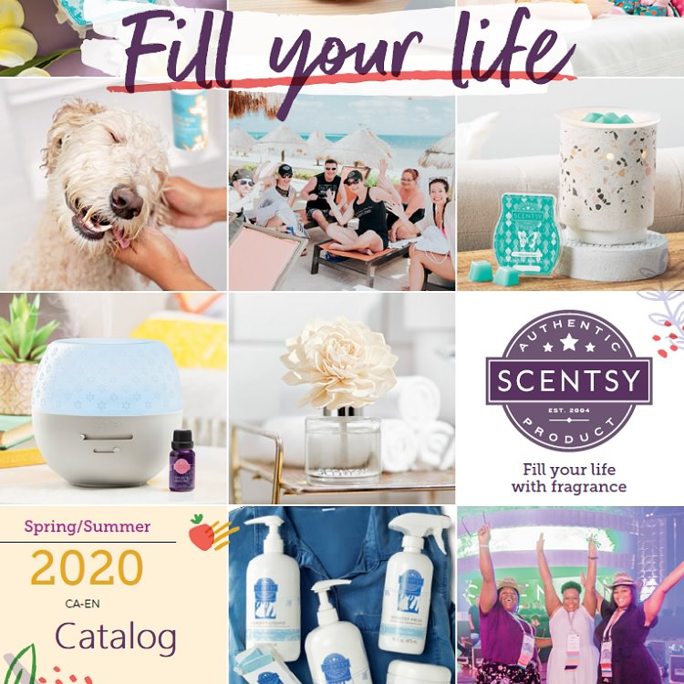 Spring and Summer 2020 Scentsy Catalog