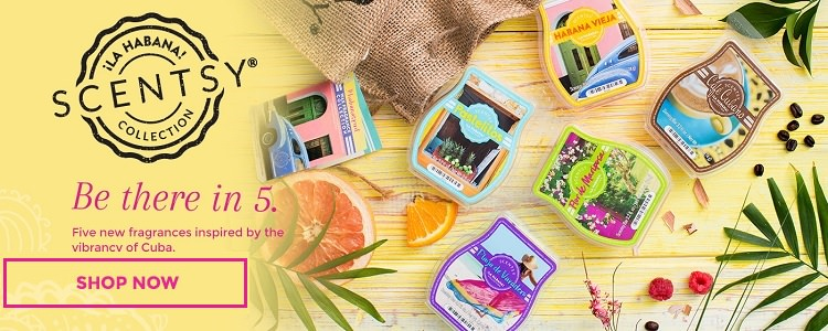 La Habana Scentsy Collection | Available For a Limited Time