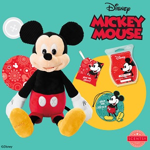 Scentsy Disney Mickey Mouse and Friends Collection