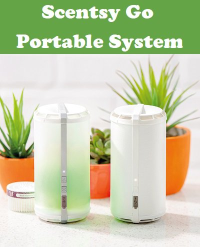 Scentsy Go - Portable Fragrance System