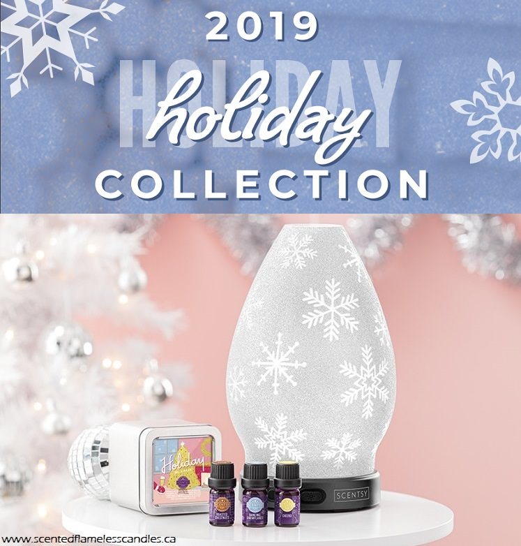 Scentsy Holiday Collection Catalog 2019