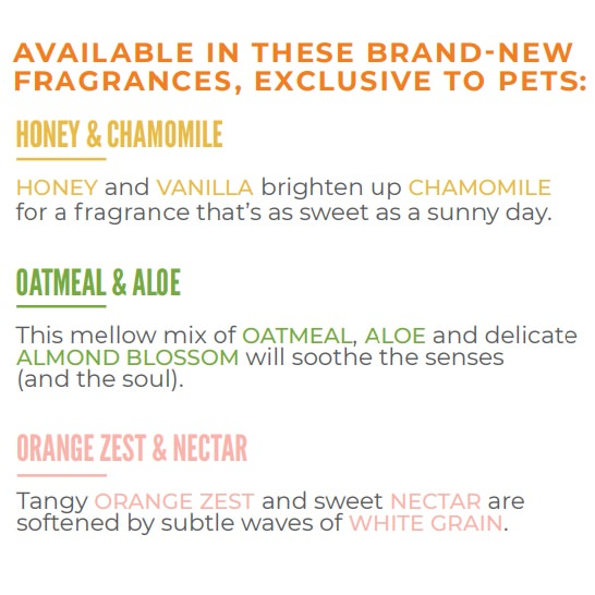 Scentsy Pet Fragrances